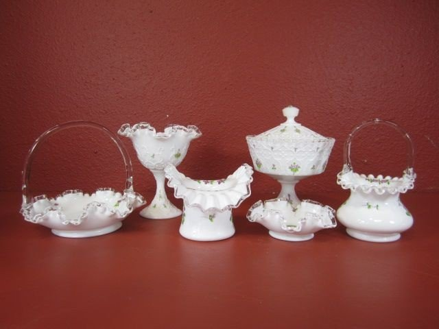 54: G20-4  LOT OF 6 GLASS ITEMS