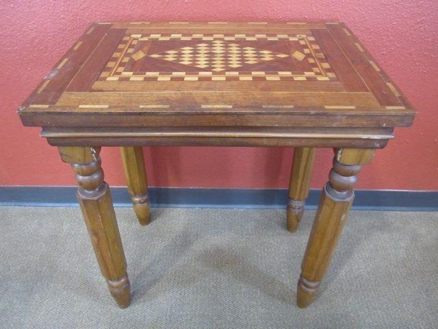 175: E8-3  PARQUETRY TABLE