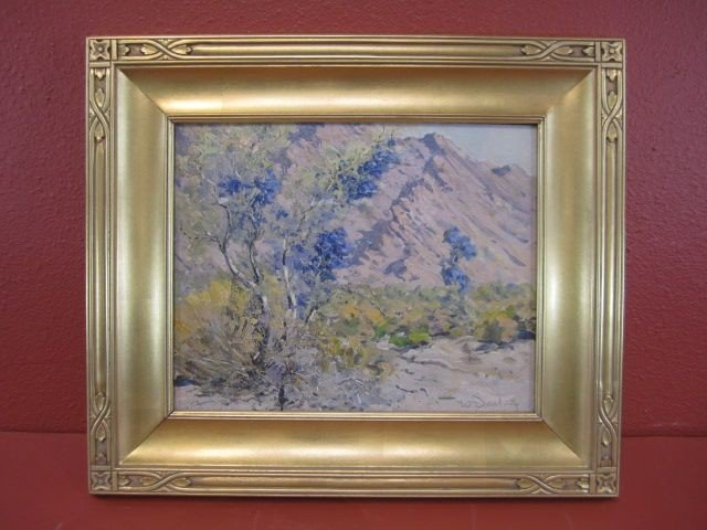 207: F99-3  WILLIAM S. DARLING OIL PAINTING