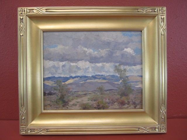 208: F99-4  WILLIAM S DARLING OIL PAINTING