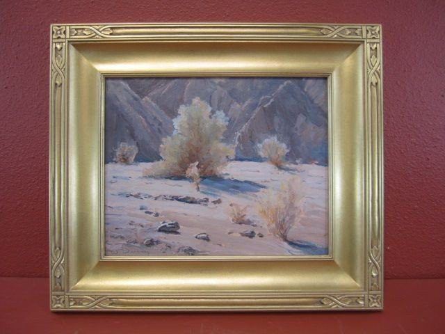 209: F99-5  WILLIAM S DARLING OIL PAINTING