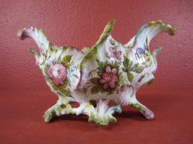 """G32-4  SIGNED """"NAVE"""" PORTUGAL BOWL"""