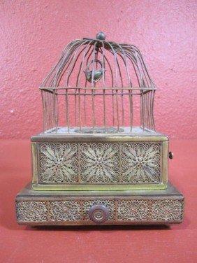 11: A44-6  SINGING BIRD BOX