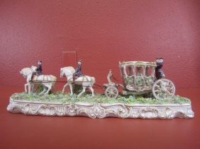 A55-4  FABRIZ HORSE & CARRIAGE