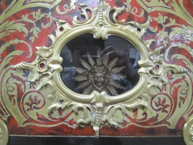 648: A62-2  SIGNED TALL CASE BOULLE CLOCK - 5
