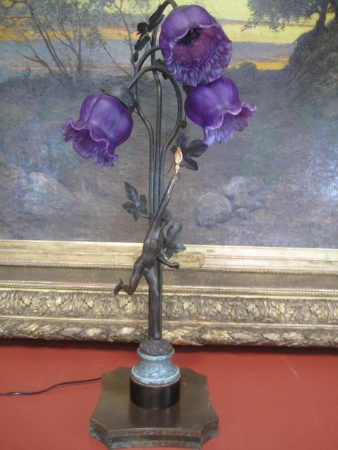 11: A4-5  BRONZE MERCURY LAMP