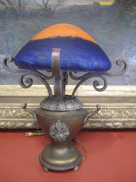 12: A4-6  BRASS LAMP