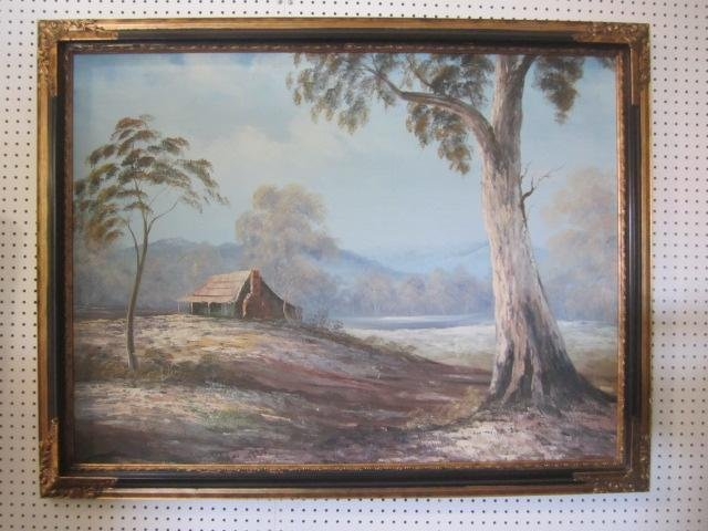 7: E57-1  OIL PAINTING