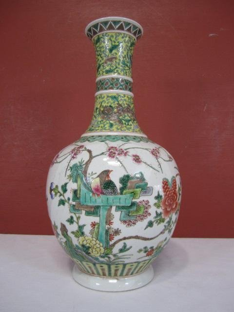 1: A66-1  ANTIQUE CHINESE VASE