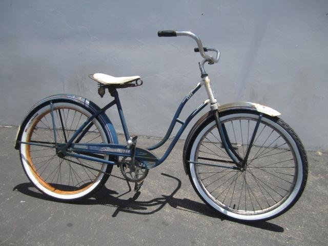 "409: E23-1  VINTAGE FIRESTONE ""SPECIAL CRUISER"" BICYCLE"