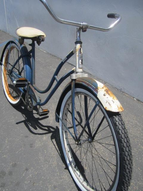 "409: E23-1  VINTAGE FIRESTONE ""SPECIAL CRUISER"" BICYCLE - 3"