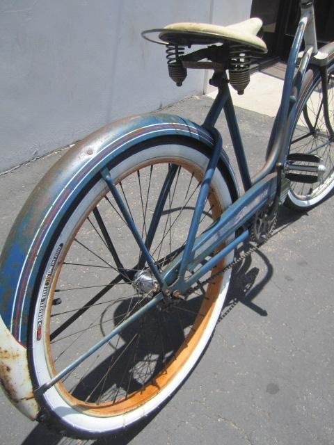 "409: E23-1  VINTAGE FIRESTONE ""SPECIAL CRUISER"" BICYCLE - 4"