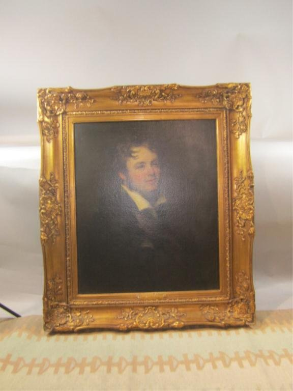 24: H18-41  HENRY WILLIAM PICKERSGILL OIL PAINTING
