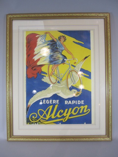 58: H35-1  LEGERE RAPIDE ALCYON FRENCH POSTER