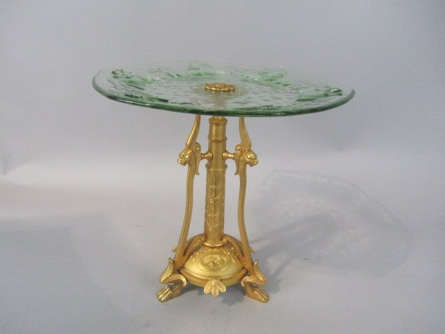 255: A80-5  GILT BRONZE CENTER PIECE
