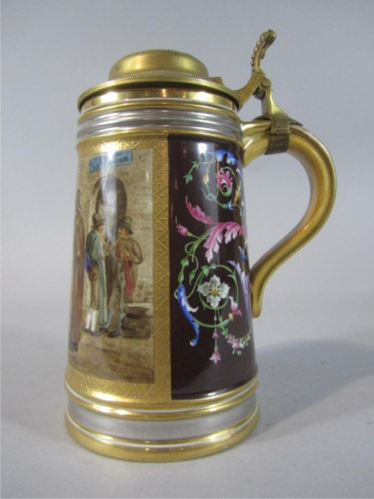 174: H80-170  19TH CENTURY ROYAL VIENNA STEIN
