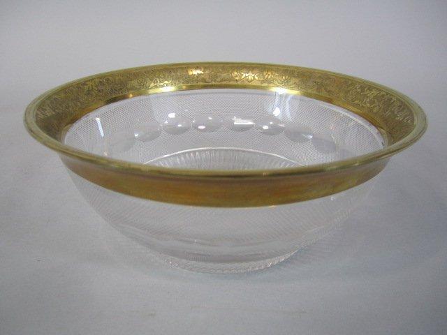 46: H80-202  MOSER SPLENDID GOLD BOWL