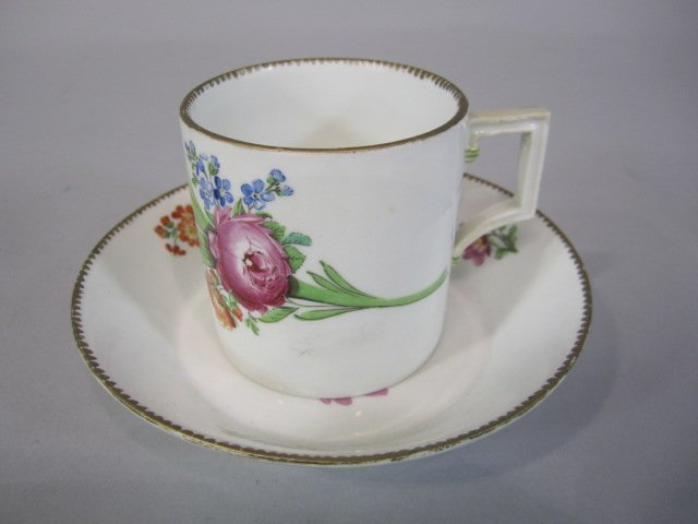 48: H80-204  MEISSEN MARCOLINI CUP & SAUCER