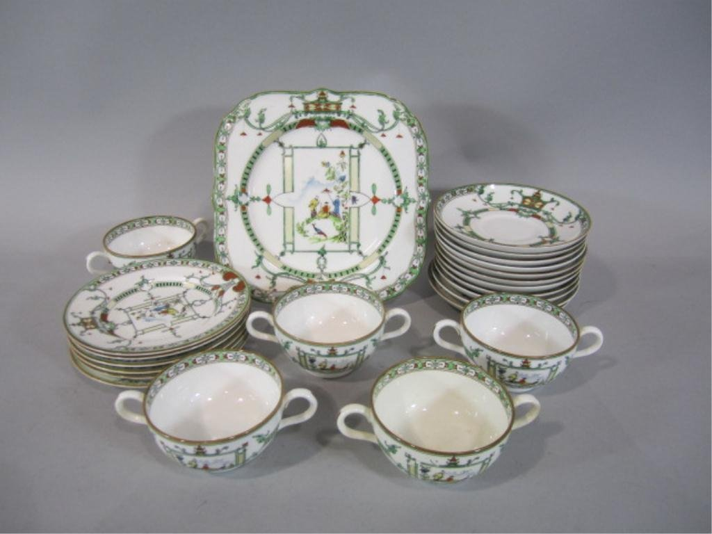 242: H25-10  ROYAL WORCESTER CHINA