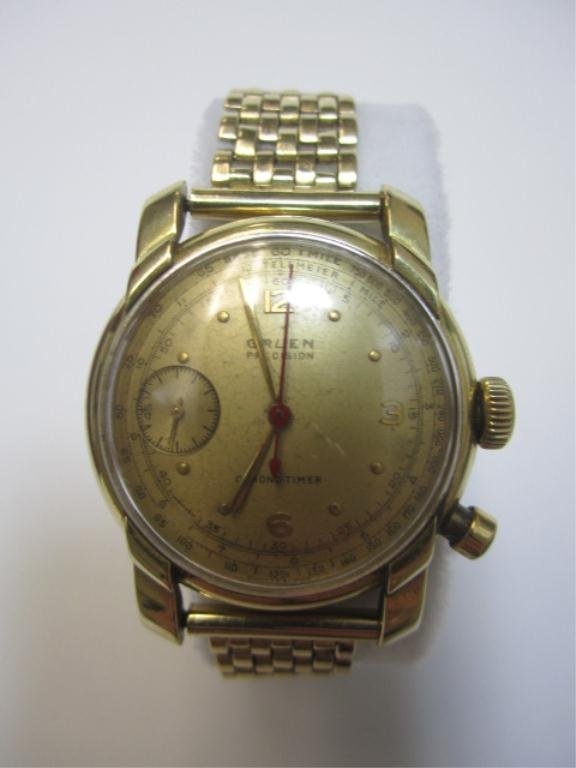 240C: A27-24  GRUEN CHRONOMETER WRIST WATCH