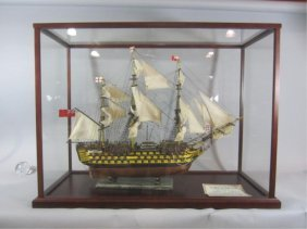 F95-1  TALL SAILS MODEL SHIP SAILING SHIP 38""