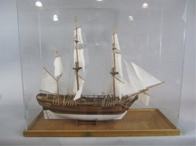F95-2  TALL SAILS MODEL SHIP SAILING SHIP 31""