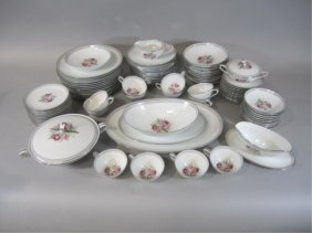 H37-1  NORITAKE CHINA SET