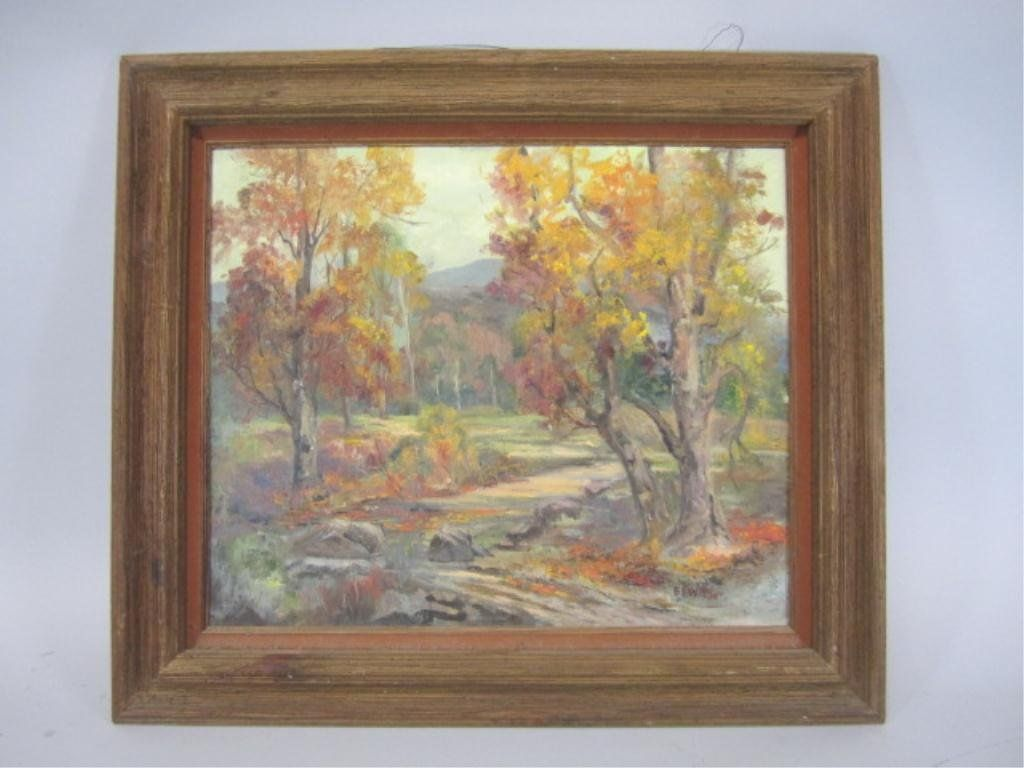 A3-36 OIL PAINTING BY EDITH WATSON