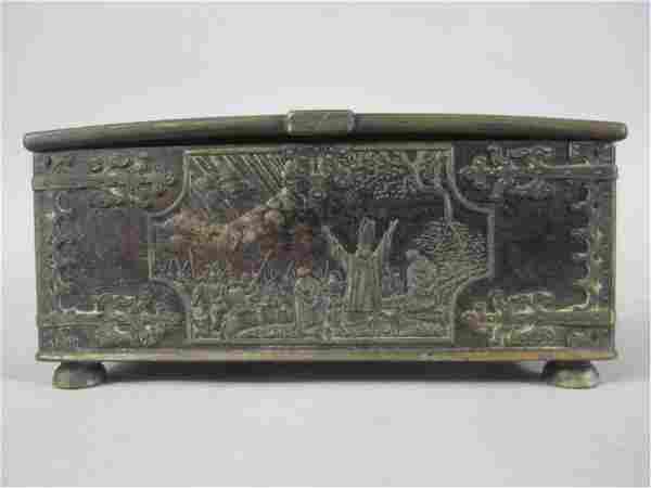 A3-27 ANTIQUE DANISH BOX