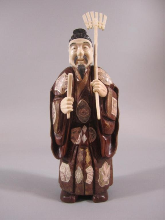 A83-9  CHINESE IVORY CARVING