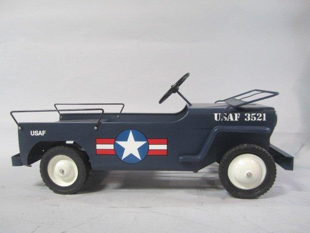 A79-8  1949 AIR FORCE HAMILTON ARMY JEEP PEDAL CAR - 5