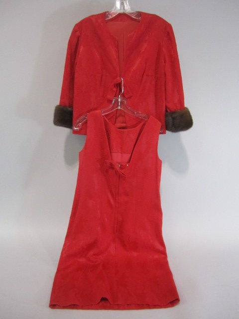 E14-3  VINTAGE 1960s DRESS & JACKET BY LEE CLAIRE