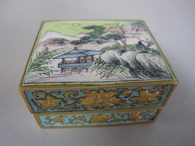 H70-28  THREE ANTIQUE TRINKET BOXES - 2
