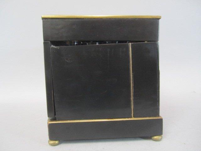A11-2  BOULLE TURTLE SHELL LIQUOR BOX - 9