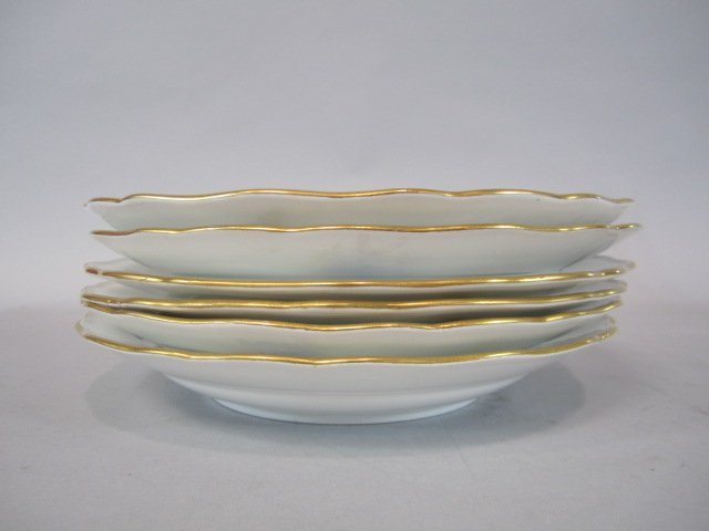 A84-7  SET OF SIX MEISSEN PLATES - 5