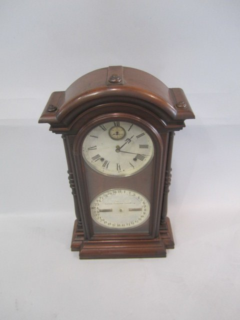 H25-26  CLOCK WITH CALENDER - 2