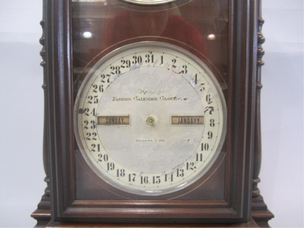 H25-26  CLOCK WITH CALENDER - 4