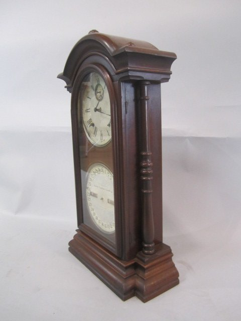 H25-26  CLOCK WITH CALENDER - 5
