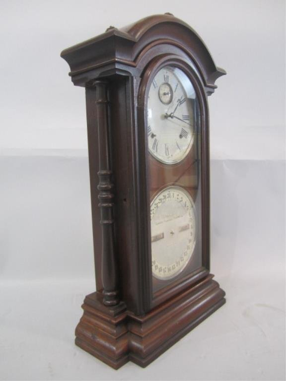 H25-26  CLOCK WITH CALENDER - 7
