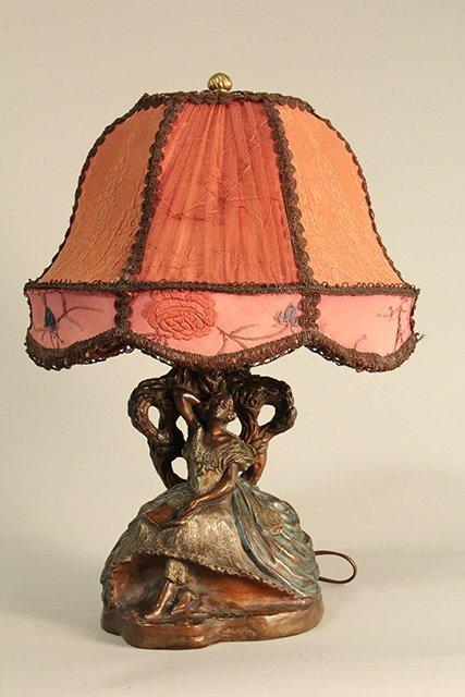 C45-5  GALVANIZED BRONZE LAMP