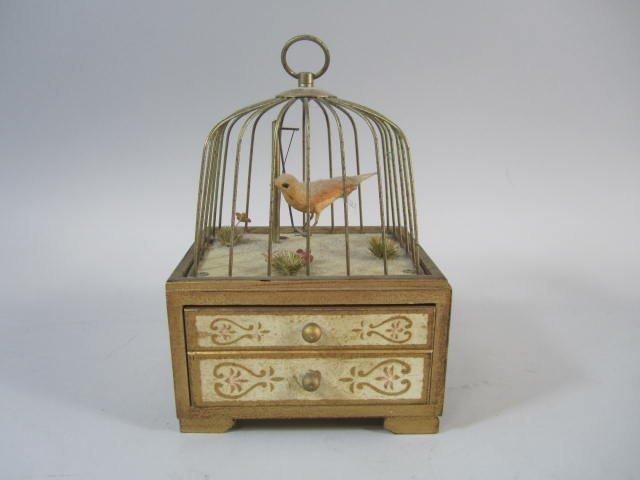 A77-20  Bird Cage Music Box
