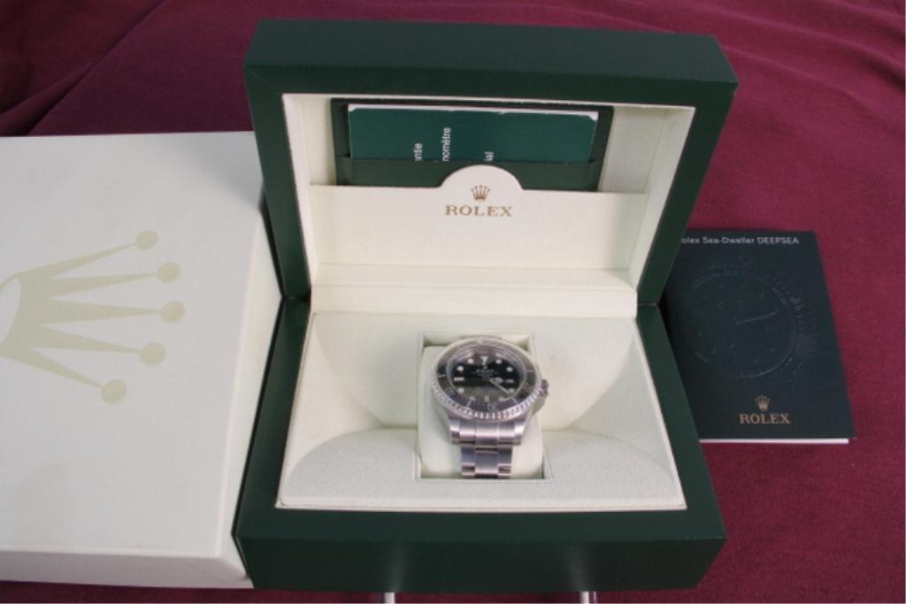 "A27-14  Rolex  ""Sea Dweller"" Deep Sea Wrist Watch"