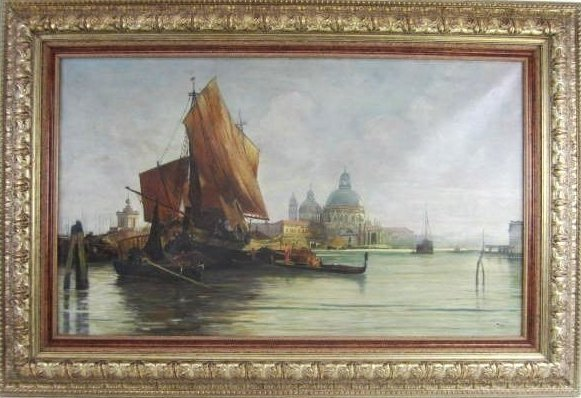 SIGNED OIL PAINTING