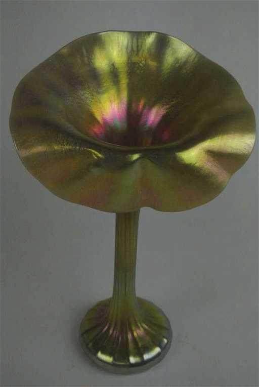 Lundberg Signed Jack In The Pulpit Vase