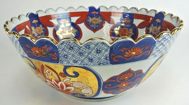 J34-4  LARGE ASIAN BOWL