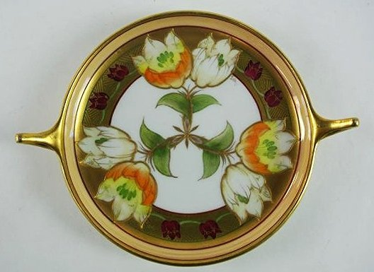 FR-11 PICKARD HAND PAINTED DISH