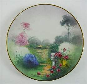 FR-16 PICKARD HAND PAINTED PLATE