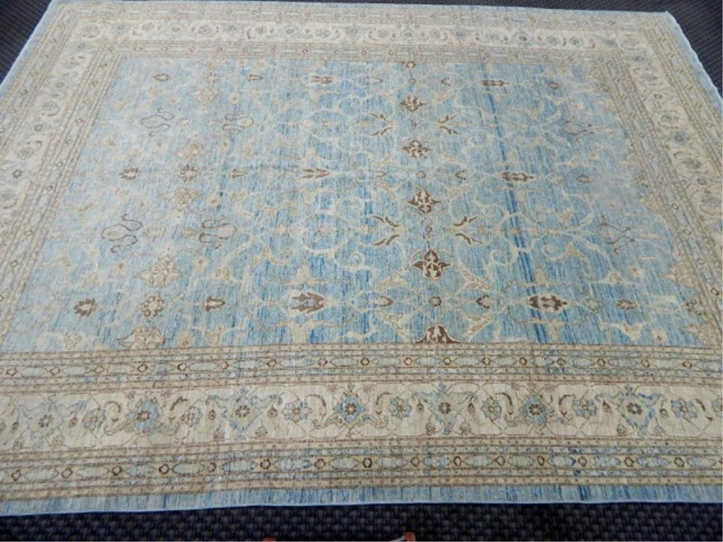 K53-3  PAKISTAN HAND TIED WOOL RUG 10' x 11'
