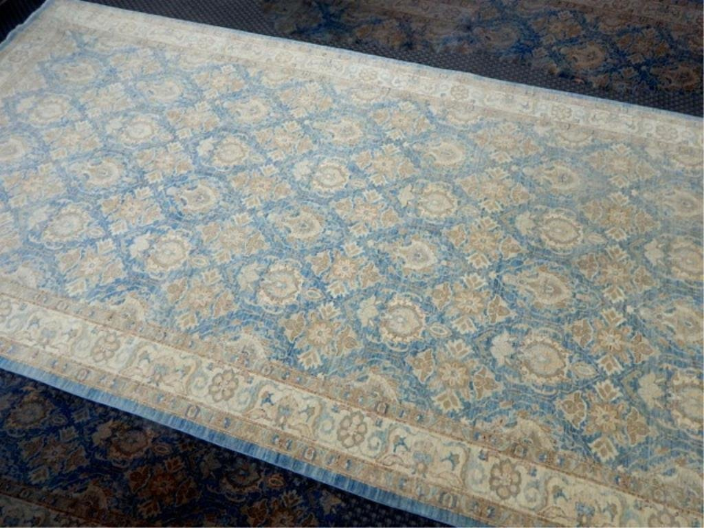 K53-4  PAKISTAN HAND TIED WOOL RUG 8' x 16'