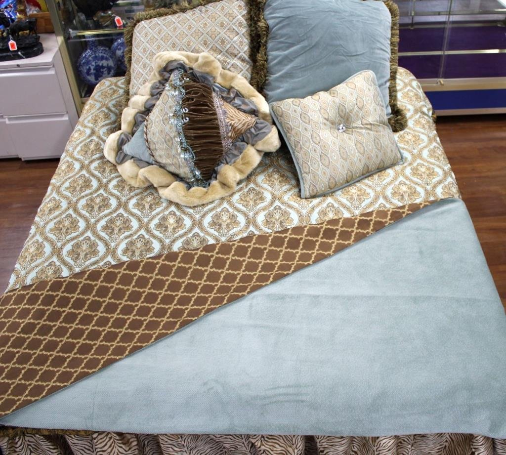 K53-20  KING BED SET BY BRANDI RENEE DESIGNS